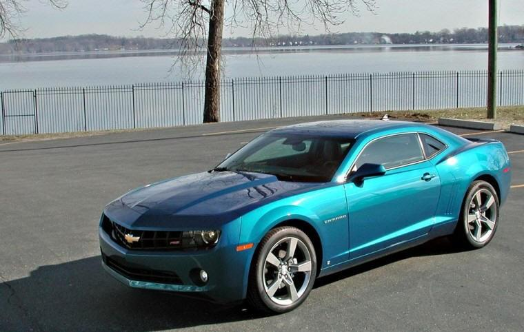Front Left 2010 Chevrolet Camaro Car Picture