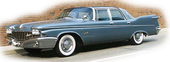 Front left 1960 Chrysler Imperial Car Picture