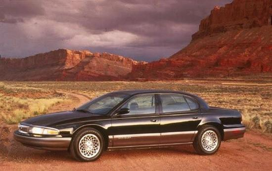 Presents a left side 1996 Chrysler New Yorker Car Picture
