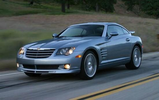 Front left 2005 Chrysler Crossfire Car Picture