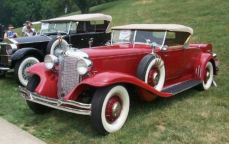 Front left 1931 Chrysler Imperial Roadster Car Picture