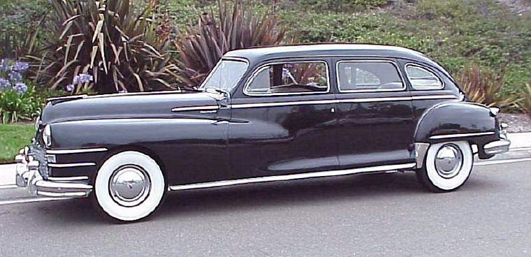 Left Side 1948 Chrysler Crown Imperial Car Picture
