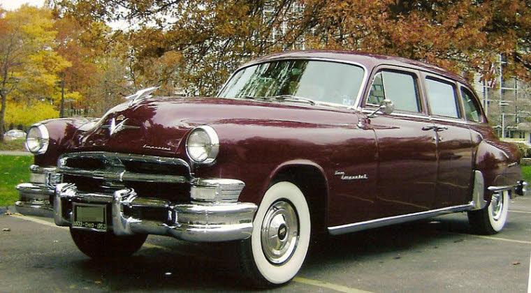 Front left 1953 Chrysler Crown Imperial Car Picture