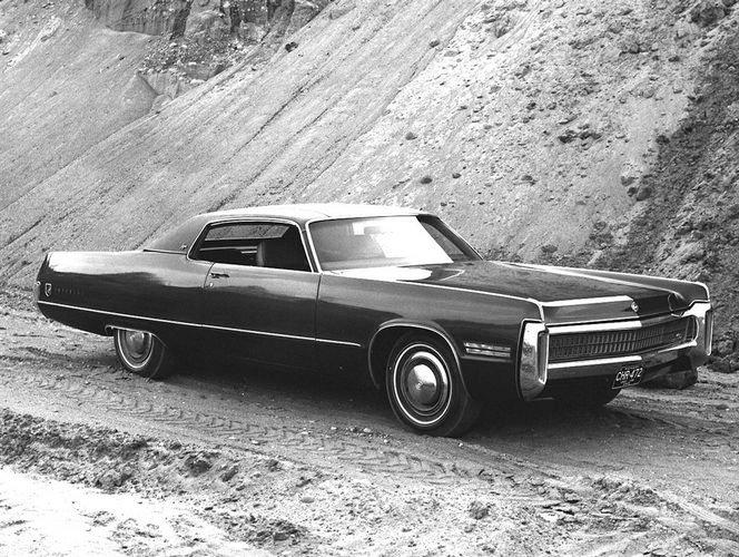 Front Right 1972 Chrysler Imperial LeBaron Car Picture