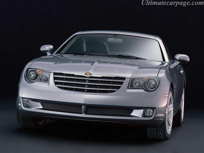 Front view 2003 Chrysler Crossfire Car Picture