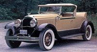 Front Left 1931 Chrysler Roadster Car Picture