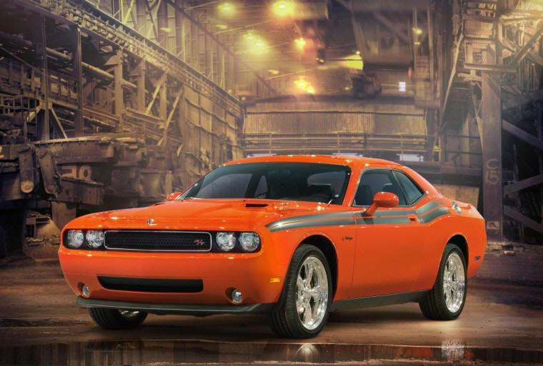 Front Left 2009 Dodge Challenger Car Picture