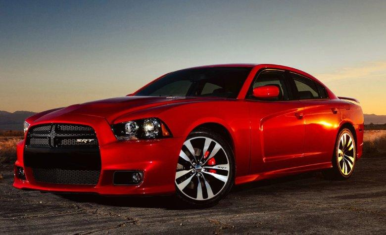 Front left 2012 Dodge Charger SRT8 Car Picture