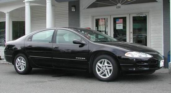 Right side black Dodge Intrepid Car Picture