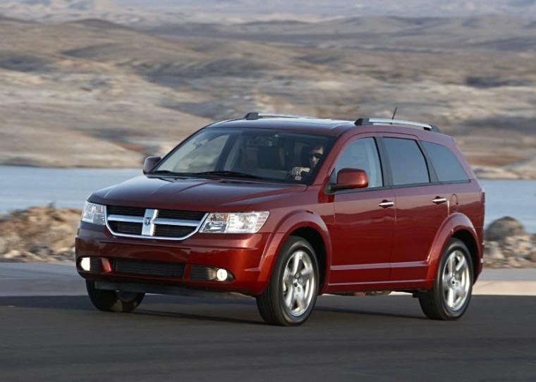 Front Left 2009 Dodge Journey CUV Picture