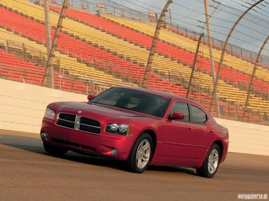 Front left red 2005 Dodge Charger RT Car Picture