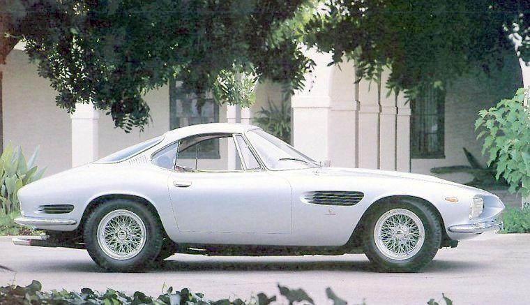 Right Side Silver 1962 Ferrari 250 GT Car Picture