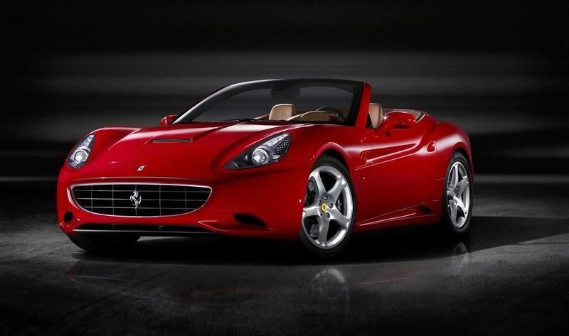 Front left 2009 Ferrari California Convertible Car Picture