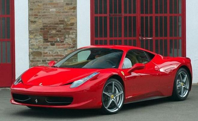 Front Right Ferrari 458 Italia Car Picture