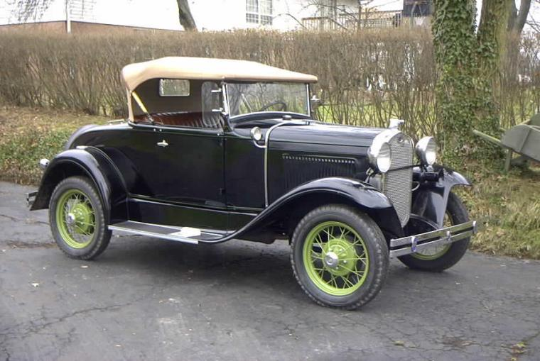 1928 Ford Model A Car Picture