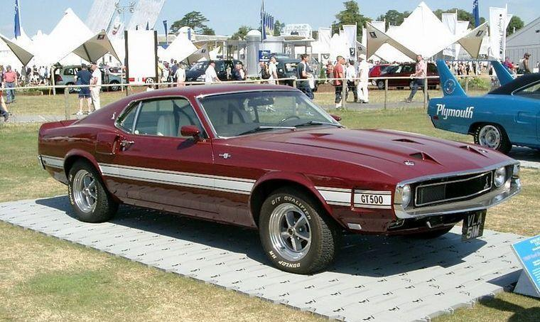 1969 Ford Mustang Shelby GT500 Car Picture