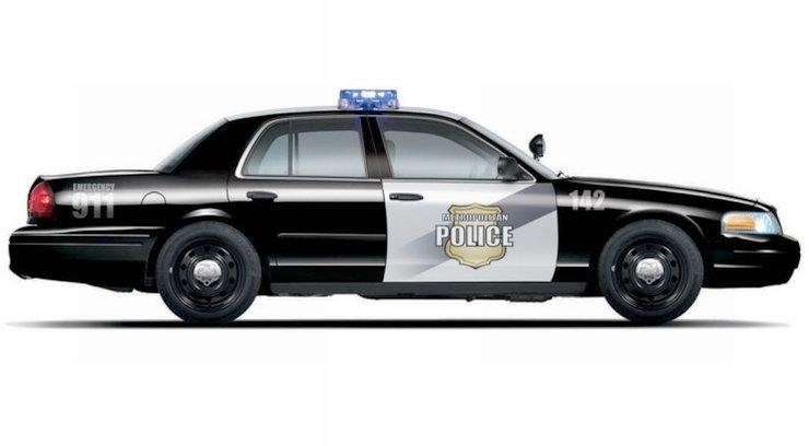 2008 Ford Crown Victoria Police Car Picture