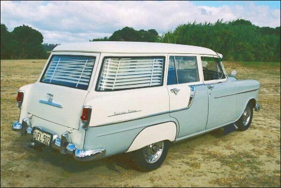 1958 Holden Station Wagon Picture