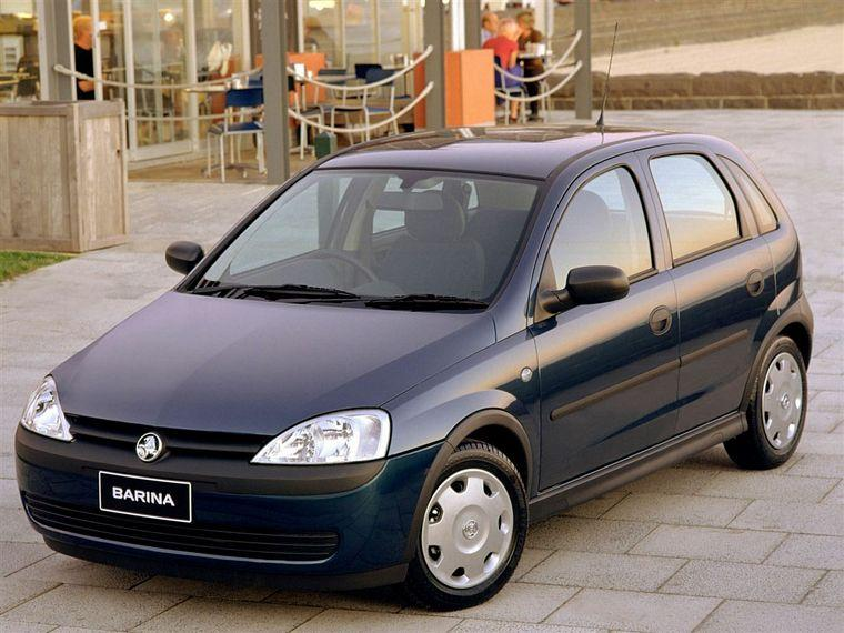 2003 Holden Barina Car Picture