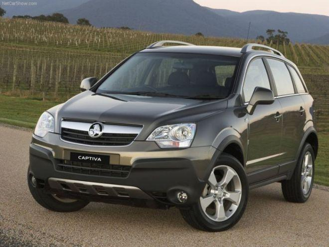 2006 Holden Captiva MaXX SUV Picture