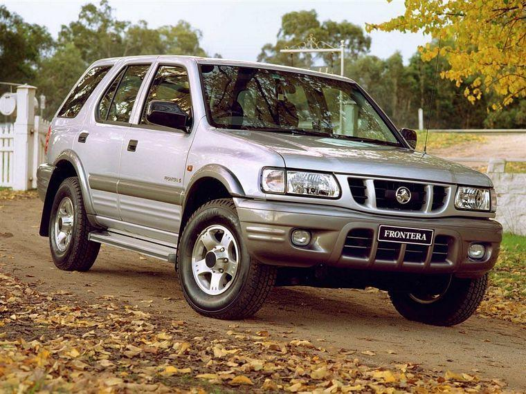 2006 Holden Frontera SUV Picture