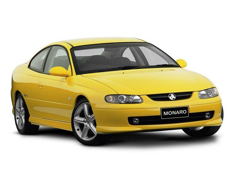 Front Right Yellow 2006 Holden Monaro Car Picture