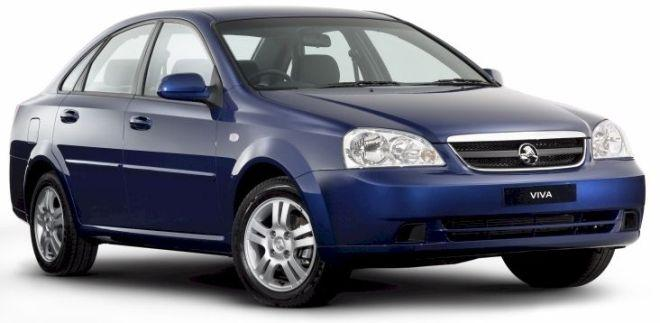 Front Right Blue 2006 Holden Visa Car Picture
