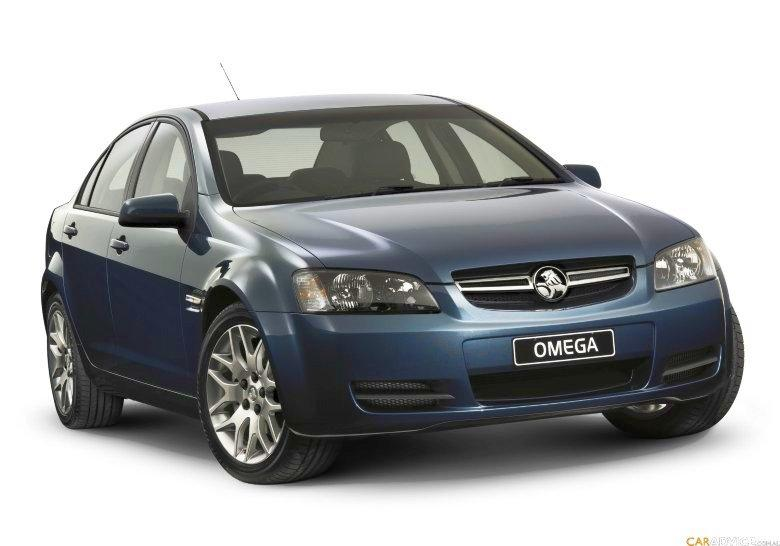 Front Right Blue 2008 Holden Omega Car Picturee