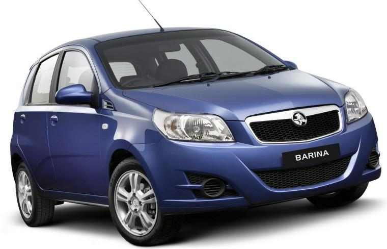 Front Right 2009 Holden Barina Car Picture