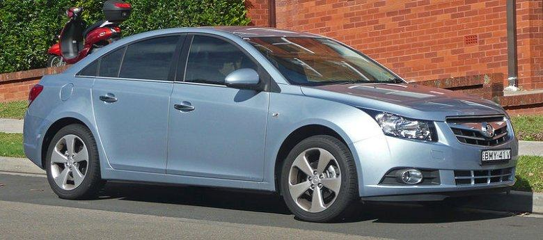 2010 Holden JG Cruze Car Picture