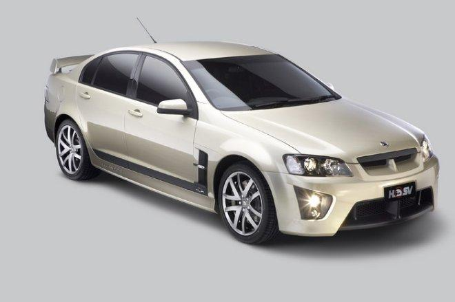 Front Right White 2008 Holden HSV Clubsport Car Picture