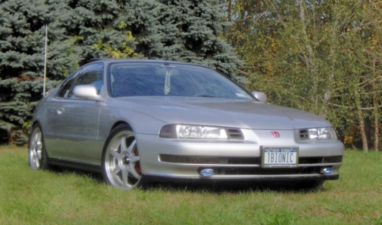 Front right silver 1992 Honda Prelude Si Car Picture