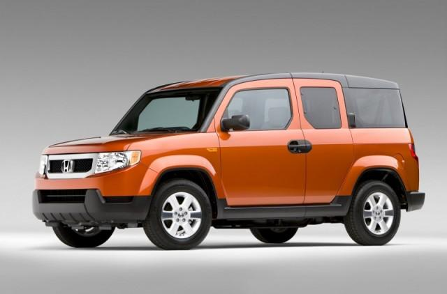 Front Left 2009 Honda Element CUV Picture