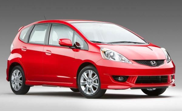 Front Right 2009 Honda Fit Sport Car Picture
