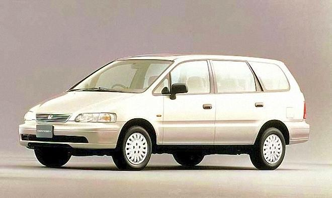 Front Left White 1994 Honda Odyssey Picture