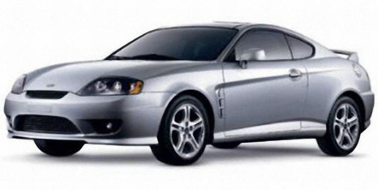 Front Left 2005 Hyundai Tiburon Car Picture