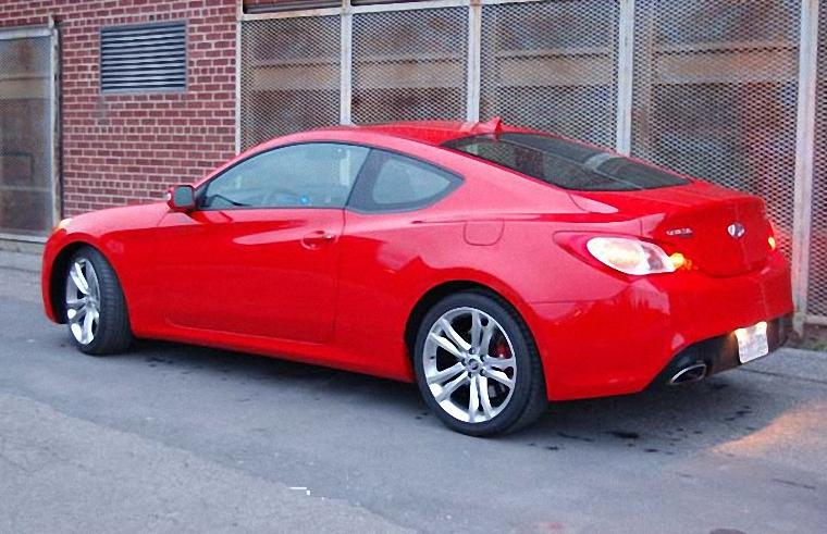 Rear Left 2010 Hyundai Genesis Car Picture