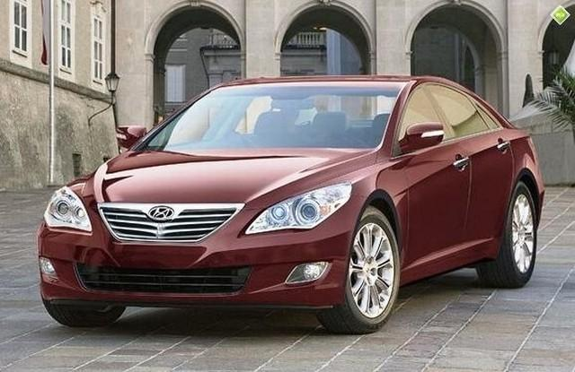 Front Left 2010 Hyundai Sonata Concept Car Picture