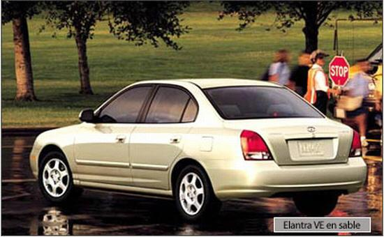 2002 Hyundai Elantra VE Car Picture