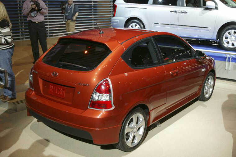 2007 Hyundai Accent Car Picture