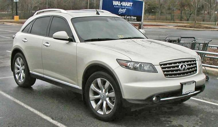 Front Right 2006 Infiniti FX CUV Picture