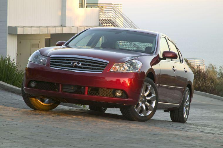 Front left Red 2006 Infiniti M Car Picture