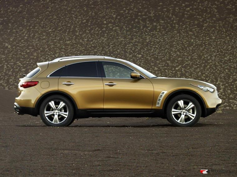 Right Side 2009 Infiniti FX35 CUV Picture
