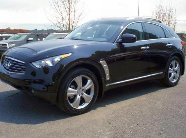 Front left Infiniti 2009 FX50 CUV Picture