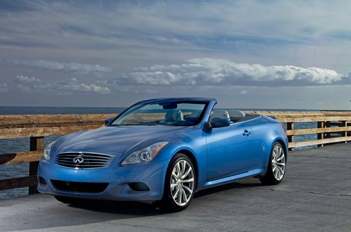 Front Left 2009 Infiniti G37 Convertible Car Picture