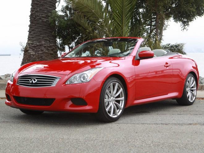 Front Left 2010 Infiniti G37 Convertible Car Picture