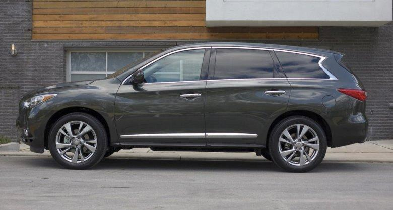 Left Side Black 2013 Infiniti JX CUV Picture