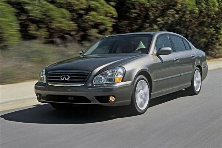 Front Left 2005 Infiniti Q45 Car Picture