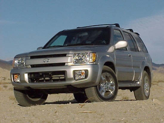 2002 Infiniti QX4 Car Picture