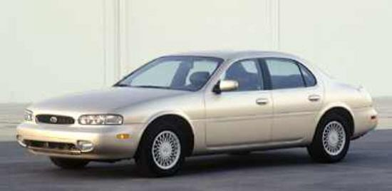 Front left Silver 1997 Infiniti J30 Car Picture